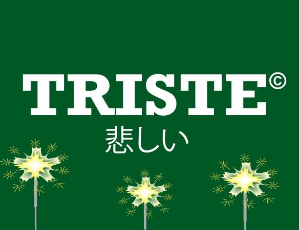 Triste logo christmas